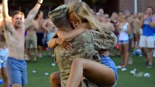 Soldiers Coming Home Surprise Compilation 2015 - 44