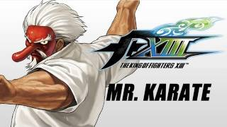 The King of Fighters XIII: Mr. KARATE