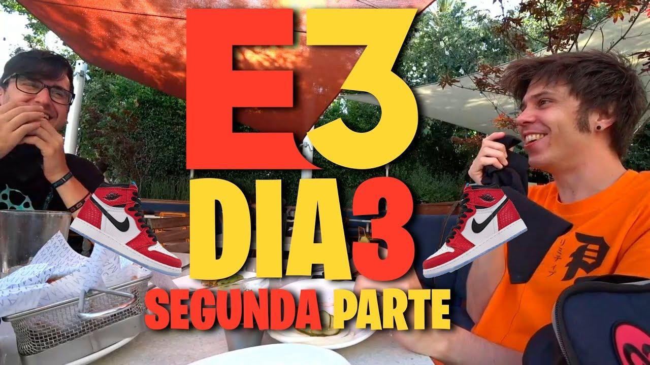 RUBIUS E3    UNAS AIR JORDAN MUY RICAS    Tercer día (segunda parte) - YouTube