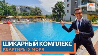 Недвижимость в Турции, Алания. Район Махмутлар. Квартира на берегу Средиземного моря || RestProperty