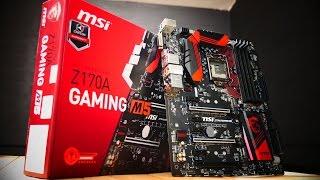MSI Z170A Gaming M5 Обзор добротной материнской платы для Skylake