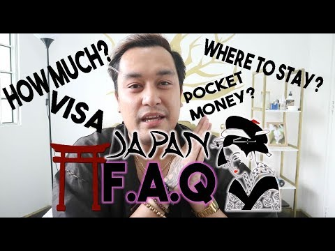 ⛩| JAPAN F.A.Q. (Multiple visa, documents, where to stay and go, how much?, tips | oeuvretrends