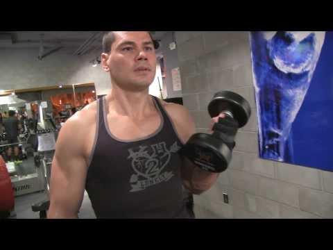 Biceps Dumbbell Curl, Kol Kaslari Nasil Buyutulur ?