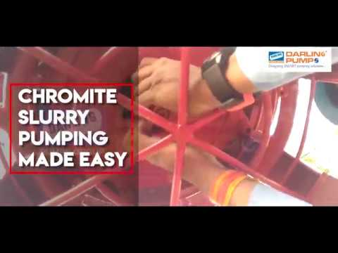 Chromite Slurry Pumping Made Easy with Darling Pumps