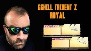 [Cowcot TV] Présentation mémoire DDR4 GSKILL TRIDENT Z ROYAL