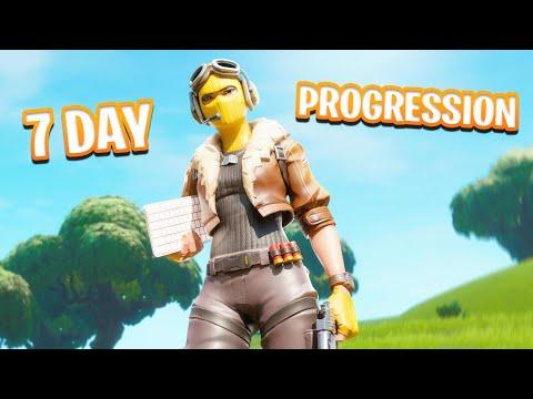 7 Day Controller to PC Progression Fortnite! Controller to PC Fortnite! (Console to PC Journey)