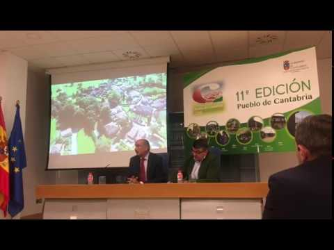 Presentación de Esles como Pueblo de Cantabria 2018