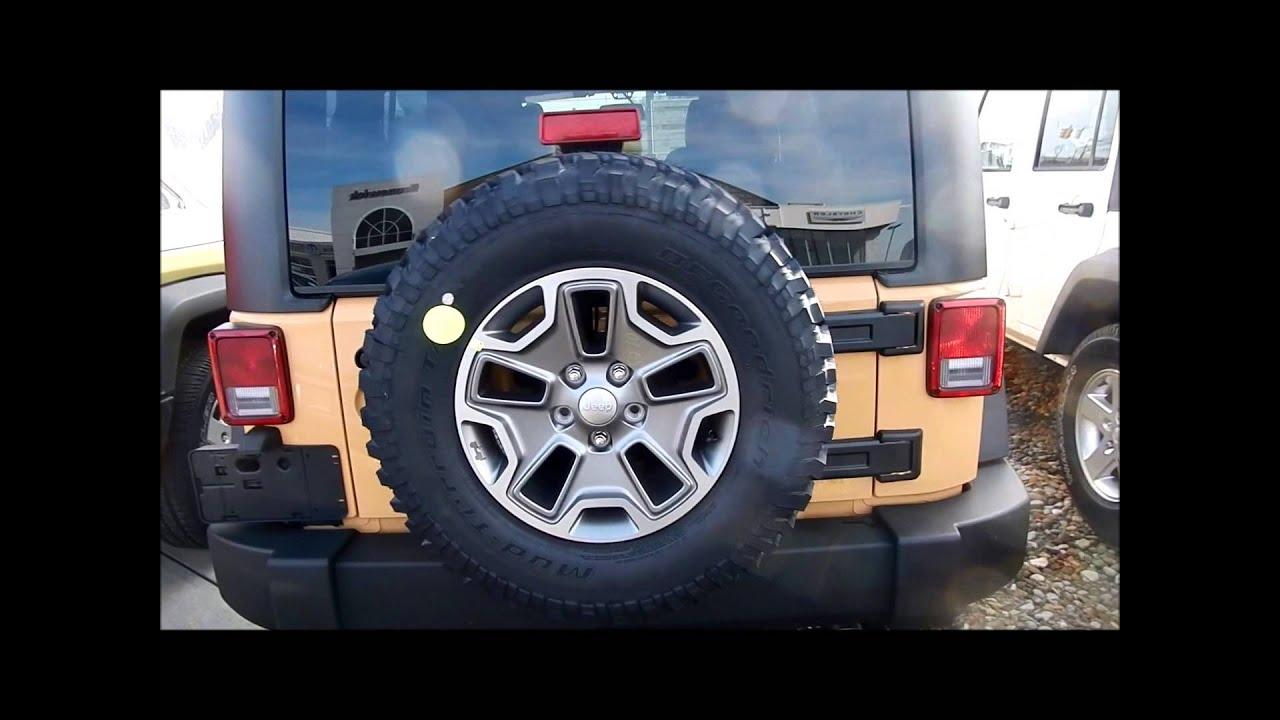 Nice 2013 Jeep Wrangler JK   Dune Color First Look