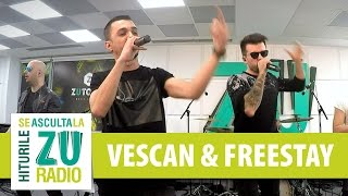 Vescan si FreeStay - Hall of Fame (The Script) (Live la Radio ZU)