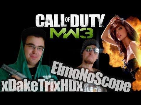 MoeR Friends : xDakeTrixHDx,ElmoNoScope & Master-Bater MW3 Commentary!