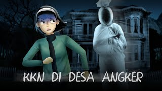Rumah Hantu Pocong | Kartun Horror - Cerita Mahasiswa KKN | Rizky Riplay