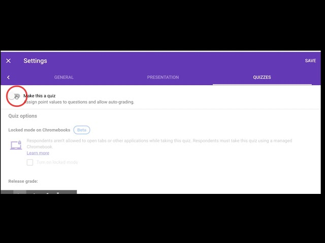 How to Create Google Forms Locked Mode LESSONS