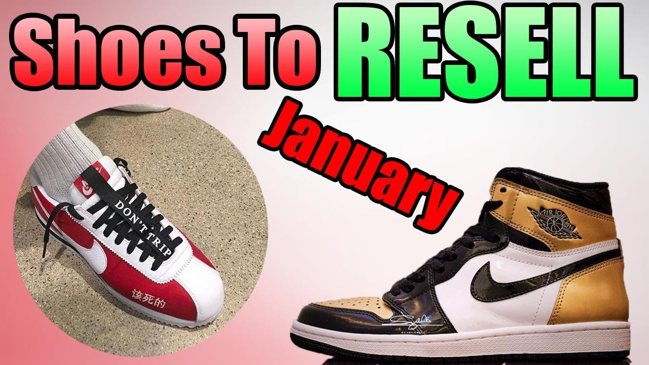 JANUARY 2018 ! MOST HYPED Sneakers