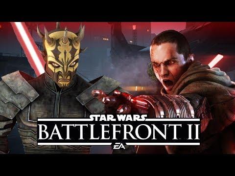 Savage Opress vs Starkiller (Galen Marek) Battlefront 2