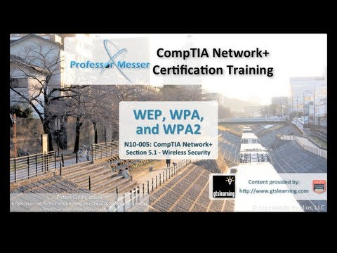 Understanding WEP, WPA, and WPA2 - CompTIA Network+ N10-005: 5.1