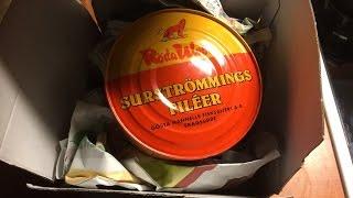 Testissä surströmming   ruotsalaista hapansilakkaa