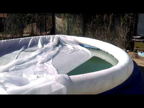 Вода в бассейне ржавеет. Как понизить высокий уровень железа в воде из скважины?  (Часть. 2)