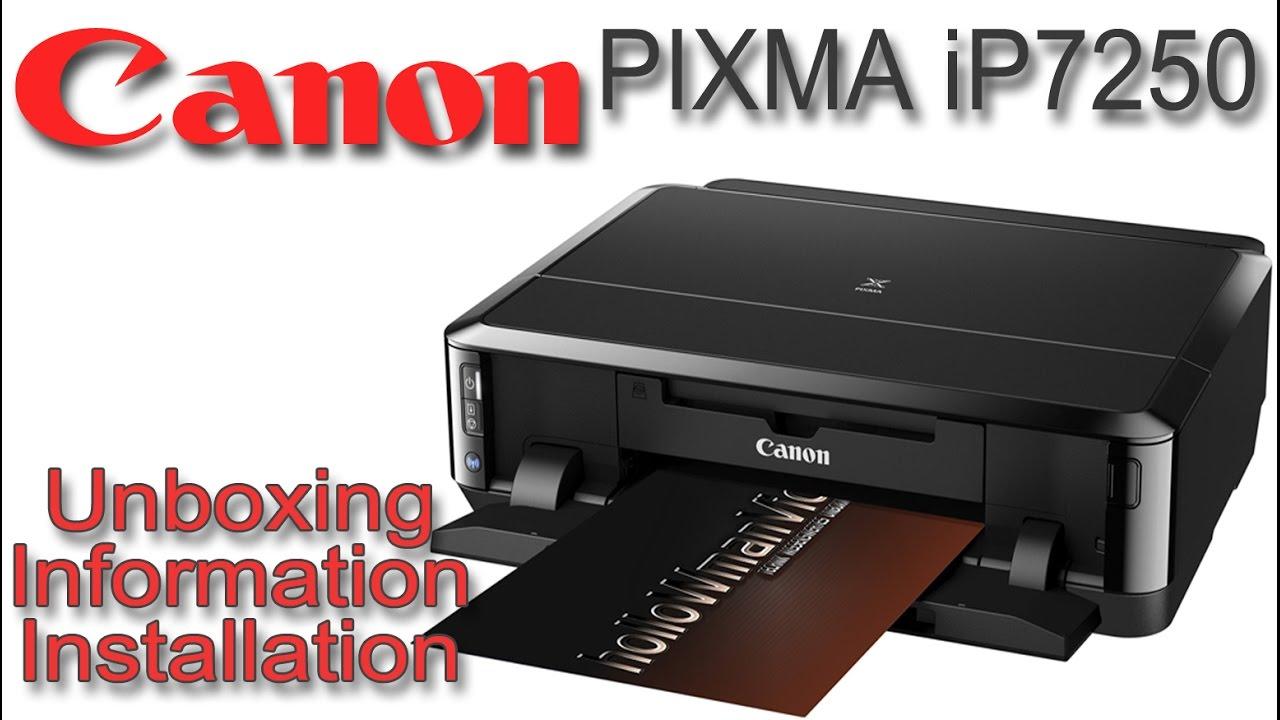 Canon PIXMA iP 20   Unboxing Information und Installation