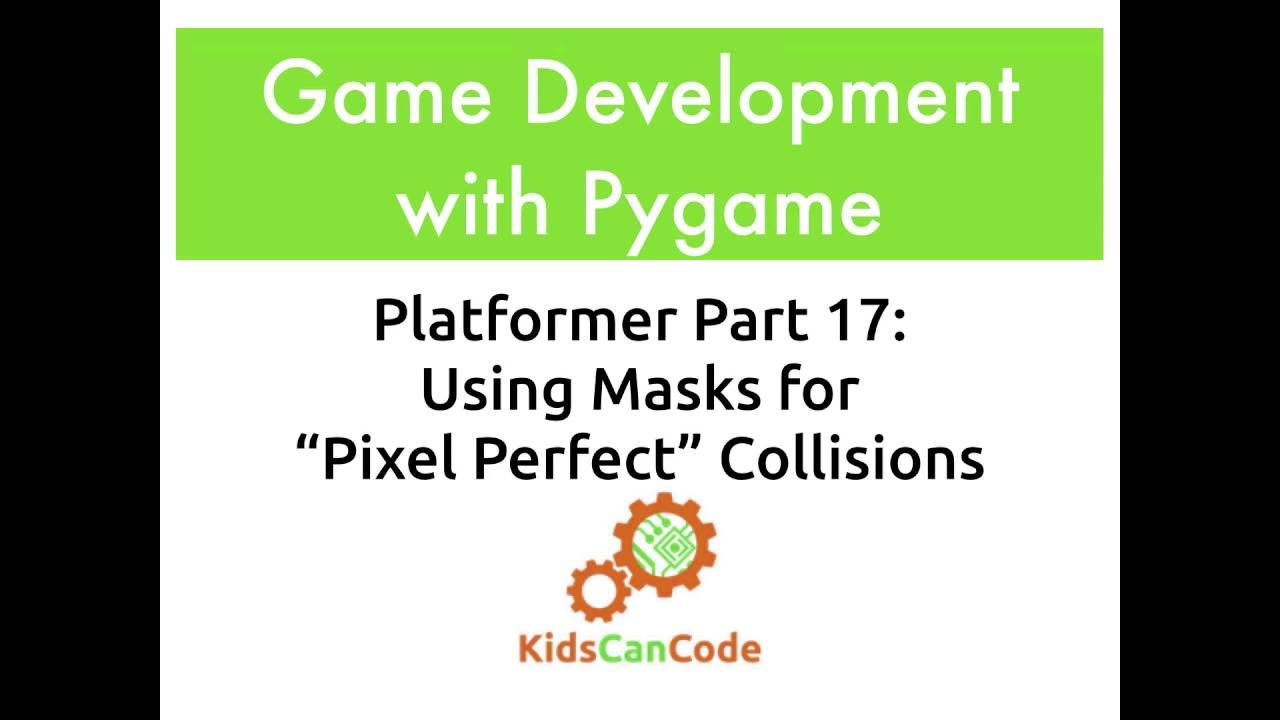 Pygame Platformer Part 17: Using Collision Masks