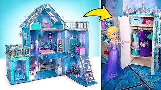 Building NEW Wonderful House for Disney Queen Elsa