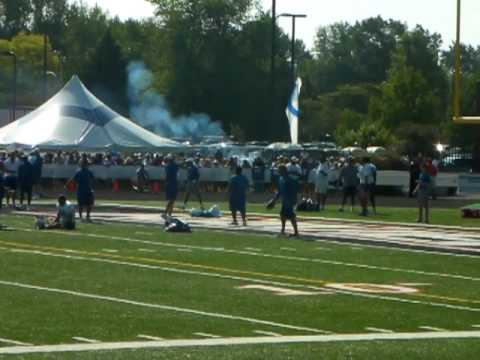 2010 Colts Training Camp in Anderson, Indiana Pat McAfee 70 yd Punt