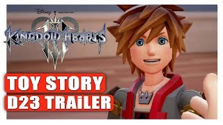KINGDOM HEARTS III (3) OFFICIAL TRAILER - D23 EXPO JAPAN - PS4/XBOX ONE 2018 ENGLISH