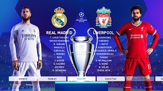This video is the gameplay of real madrid vs liverpool (leg 1) uefa champions league 2021my second channel - https://www./channel/ucus9...instagra...