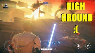 Star Wars Battlefront 2 - Clone Wars Show talk | Obi Wan Kenobi Killstreak! (Geonosis)