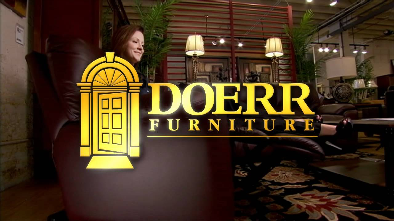 Doerr Furniture Logo Youtube