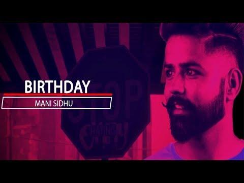 Birthday - Mani Sidhu | Simar Jawandha | Dark Noise | Latest Punjabi Music 2018 | Trez Music