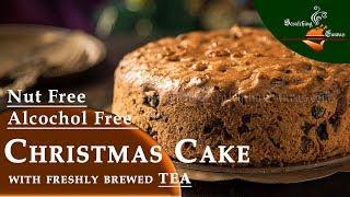Christmas Fruit Cake | চা আর কিশমিশ দিয়ে বানানো বড়দিনের কেক | Alcohol Free Bara Brith Tea Cake
