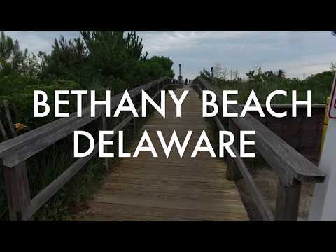 Bethany Beach, Delaware - 4k Walking Tour