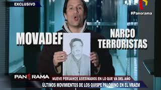 VRAEM: últimos movimientos narcoterroristas