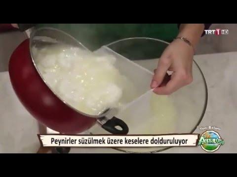 Evde Peynir Yapımı Videosu