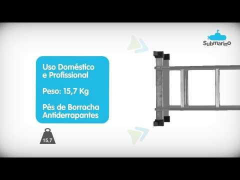 Escada Multifuncional 4x3 14 em 1 - Bets Tools | Submarino.com.br