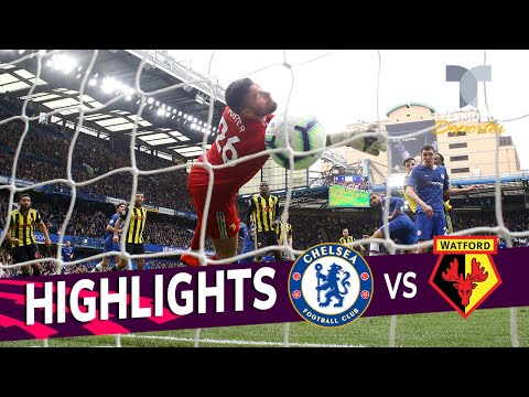 Chelsea vs. Watford: 3-0 Goals & Highlights | Premier League | Telemundo Deportes