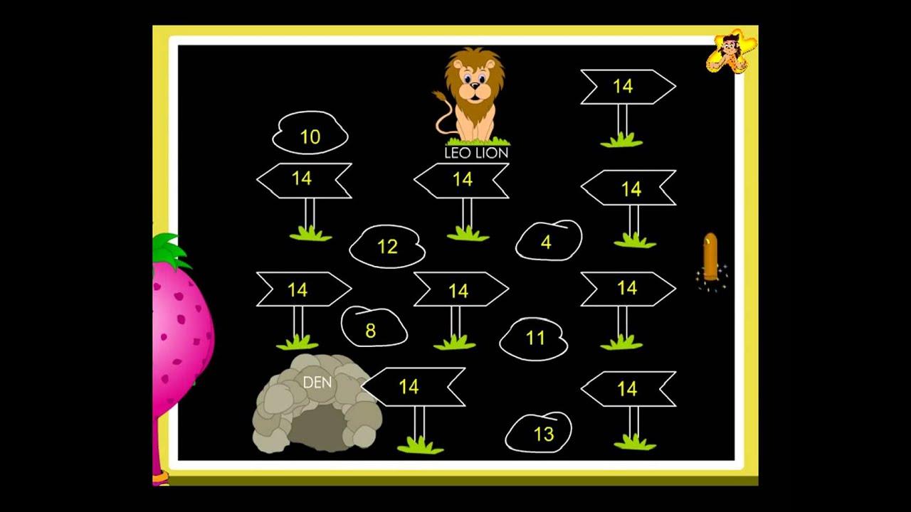 Kindergarten Math Worksheets Number 14 Youtube