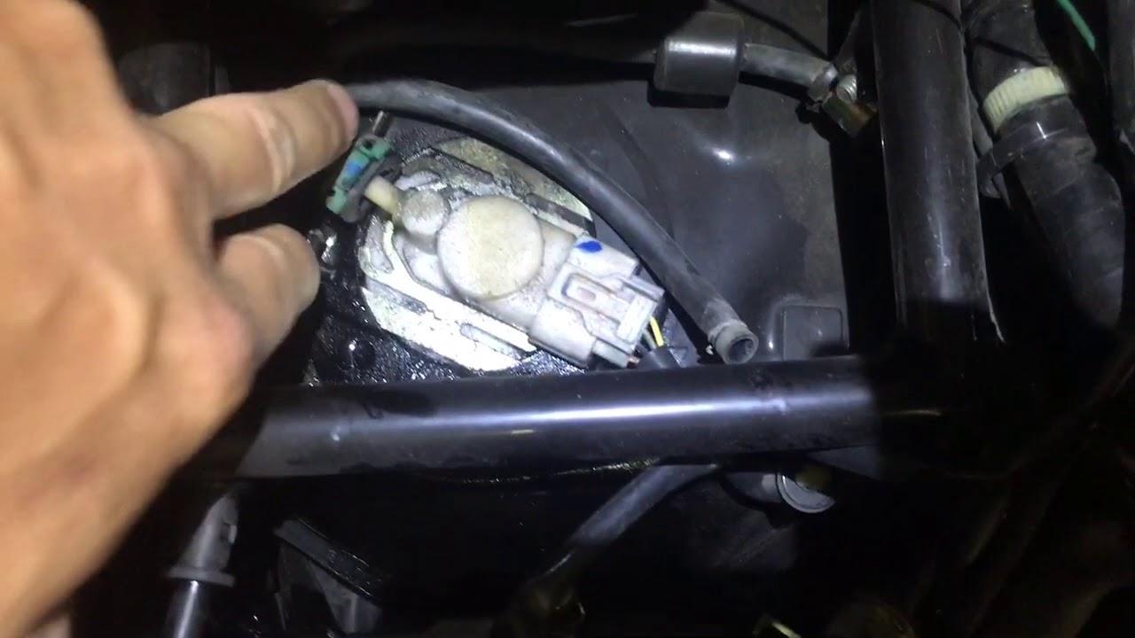 Honda Pcx fuel leak
