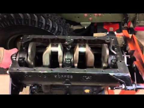 Installing The L134 Willys Crankshaft - YouTube