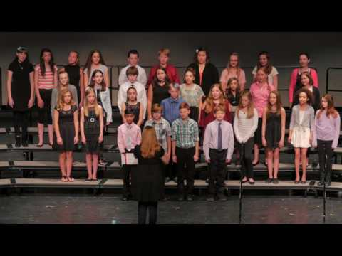 Kettle Moraine Middle School Spring Choir Concert 2017