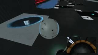 """Portal 2 Custom Map - SOCCER PORTAL 3.0 """"GOALLLLL"""""""