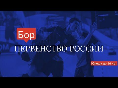 II этап (межрегиональный) Всероссийских соревнований. Юноши до 16 лет. Зона ПФО. 2-й день