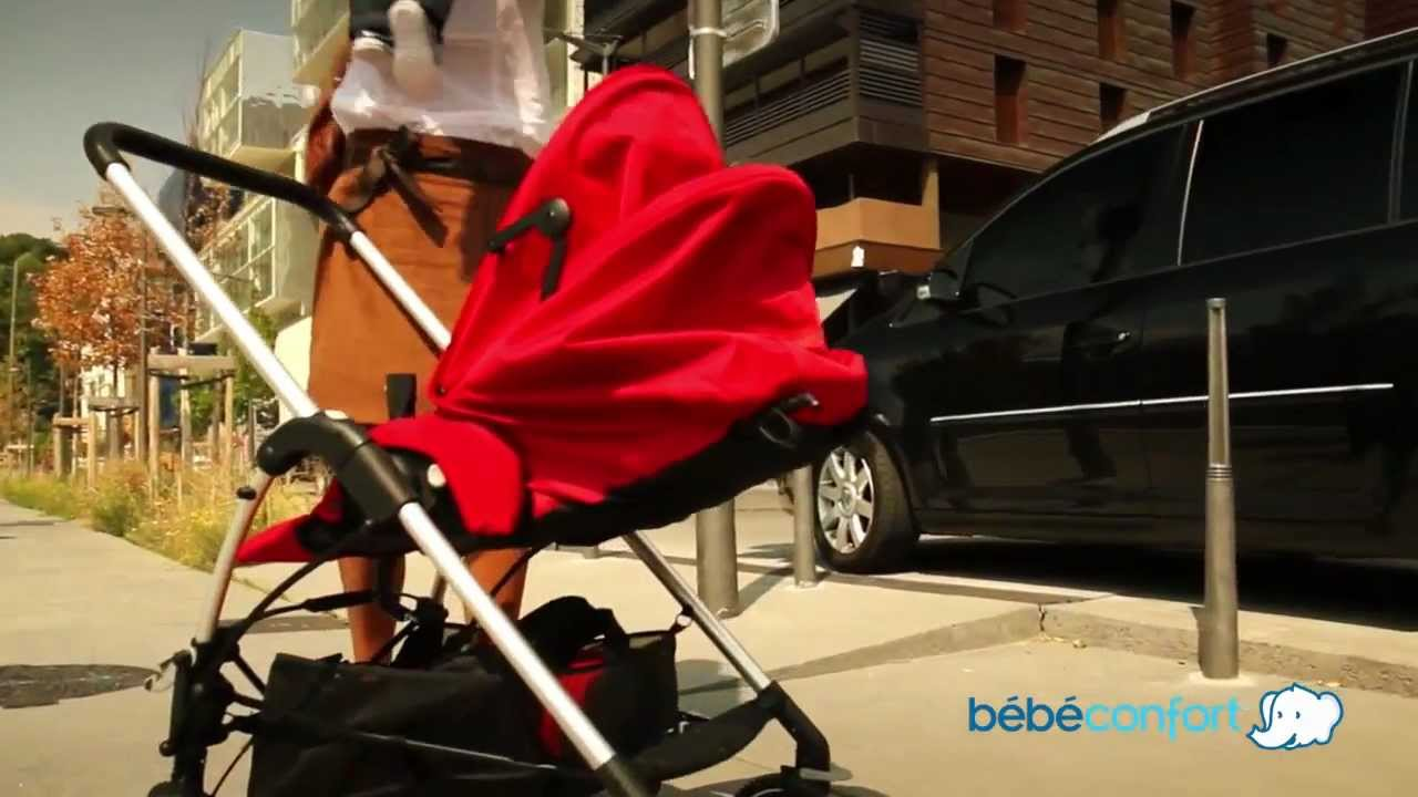 bebe confort streety plus pushchair youtube