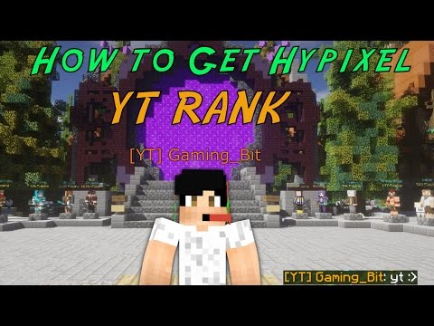 How to get YT rank on Hypixel | (No Subs Required) (Free)
