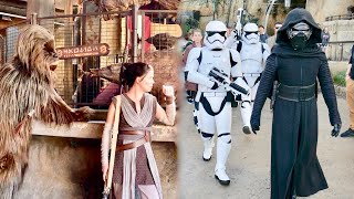 Kylo Ren Obsessed with finding Rey at Star Wars Galaxy's Edge