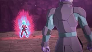 Goku ssgss kaioken x10 vs hit!  dragonball xenoverse 2 cutscene 