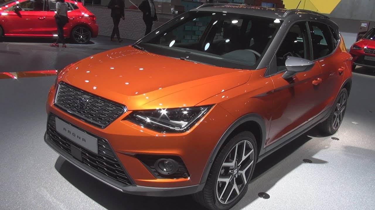 seat arona xcellence 1 0 ecotsi 115 hp 2018 exterior and interior youtube. Black Bedroom Furniture Sets. Home Design Ideas