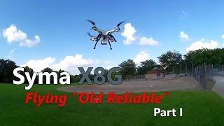 Syma X8G Stock Camera Footage -