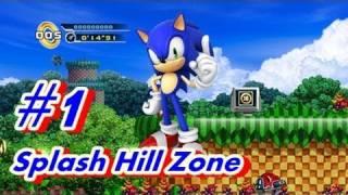 Let's Play Sonic 4 Episode 1 - Part 1 Splash Hill Zone