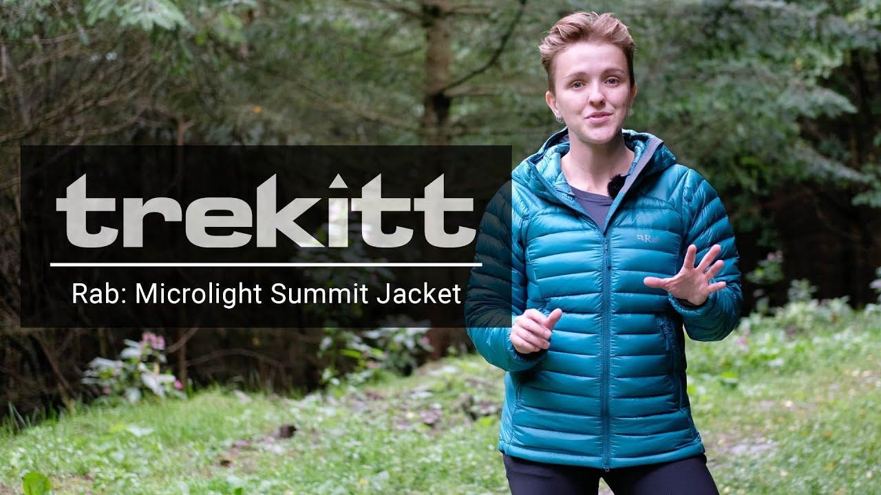 Rab Womens Microlight Summit Jacket